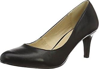 Buffalo Shoes C404A1 P1735A Pu con Cinturino alla Caviglia Donna Nero Black