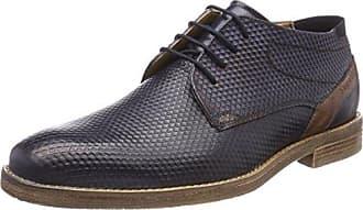 312234042100, Zapatos de Cordones Derby para Hombre, Gris (Grey 1500), 43 EU Bugatti