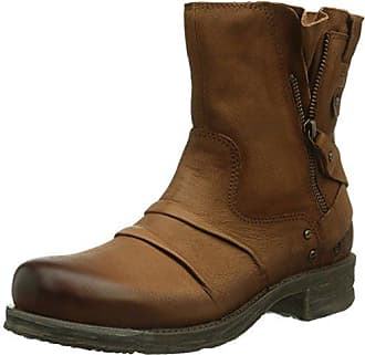 Women J58311G Cold lined biker boots half shaft boots and bootees Bugatti