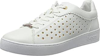 421291315969, Baskets Hautes Femme, Blanc (White/Light Grey), 37 EUBugatti