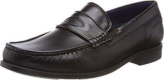 Mens 321467611500 Loafers, 4100-Dark-Blue Bugatti