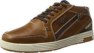 Bugatti 321334343200, Sneakers Hautes Homme, Marron (Dark Brown), 43 EU