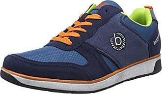 342518016900, Sneaker Uomo, Nero (Schwarz 1000), 44 EU Bugatti
