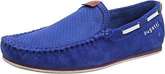 321469631469, Mocassini Uomo, Blu (Light Blue/Light Blue), 44 EU Bugatti