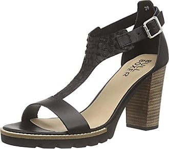 Sandal, Sandales Bout Ouvert Femme - Beige - Beige (Naturel), 37Bullboxer