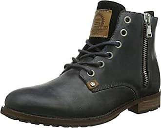 6705A, Zapatos de Cordones Derby para Hombre, Negro (Black Bkdb), 44 EU Bullboxer