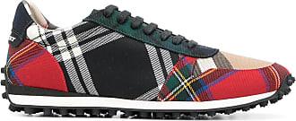 designer checkered sneakers - Multicolour Burberry