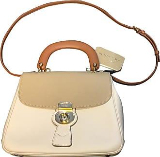 gebraucht - Handtasche in Nude - Damen - Leder Burberry
