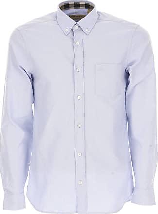 Shirt for Men On Sale, Denim Blue, Cotton, 2017, L S XL Selected