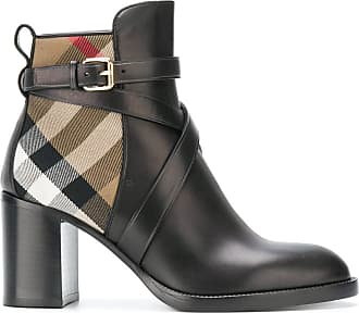 Vaughn Flat Chelsea Boots in Black Calf Leather Burberry