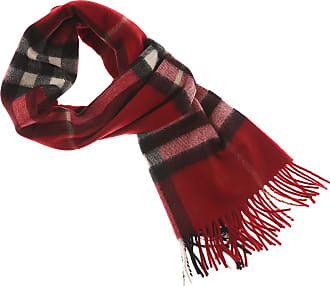 Scarf for Women On Sale, Parade Red, Cashmere, 2017, Universal Size Burberry