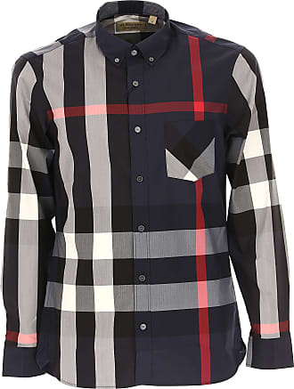 Shirt for Men On Sale, House Check, Cotton, 2017, XS - IT 44 M - IT 48 Burberry