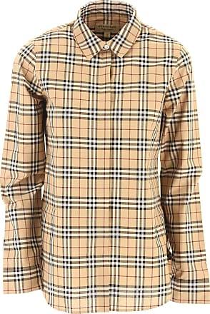Hemde für Damen, Oberhemd Günstig im Sale, Grau, Baumwolle, 2017, 44 Burberry