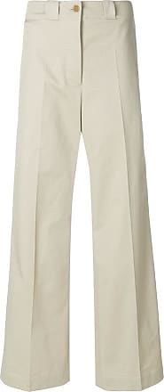 wide leg tailored trousers - Nude & Neutrals Burberry
