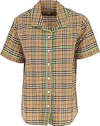 Shirt for Women On Sale, Check, Cotton, 2017, 10 Burberry