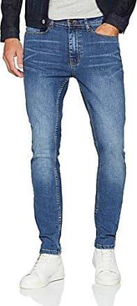 Burton Menswear London Slim Light Blue Stretch Chino, Pantalones para Hombre