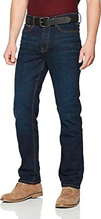 Mens Relaxed Belted Loose Fit Jeans Burton Menswear London