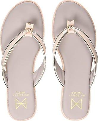Zapatos de punta abierta Butterfly Twists para mujer