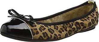 Penelope, Bailarinas para Mujer, Marrón (Tan Leopard 024), 39 EU Butterfly Twists