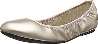 Butterfly Twists Damen Sophia Glitter Geschlossene Ballerinas, Silber (Silver Glitter 318), 39 EU