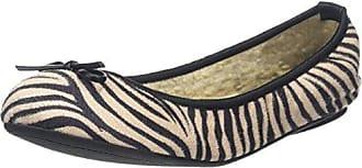 Penelope, Ballerines Femme, Noir (Zebra 031), 39 EUButterfly Twists
