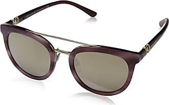 Bvlgari 0Bv6083 20145A, Gafas de Sol Unisex-Adulto, Dorado (Pink/Brown Dark), 56