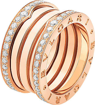 Ring for Women, White Gold, 18 kt White Gold, 2017, USA 7 1/4-EU 55-GB O 1/2-Diam: 17.45mm-Circ: 54.7mm Bvlgari
