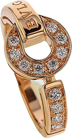 Ring for Women, Rose Gold, 18 Kt Rose Gold, 2017, USA 6-EU 52-GB M-Diam: 16.55mm-Circ: 51.5mm USA 6 1/4-EU 53-GB M 1/2-Diam: 16.71 mm-Circ: 52.2mm Bvlgari