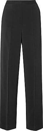 By Malene Birger Woman Thelina Crepe Wide-leg Pants Black Size 38 By Malene Birger