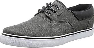 C1RCA Men's Transit Skate Shoe, Black/White/Gum, 6 M US