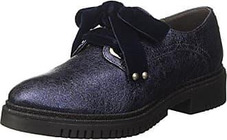 CafèNoir LFH9251736, Zapatos de Cordones Derby para Mujer, Rojo (Bordeaux 1736), 39 EU Cafènoir