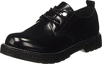 Think Chilli_282102, Zapatos de Cordones Brogue para Mujer, Negro (Schwarz 00), 37 EU