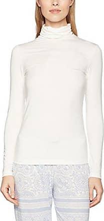 Favourites Top Langarm, Haut de Pyjama Femme, White (Star White 910), 44 (Taille Fabricant: Medium)CALIDA