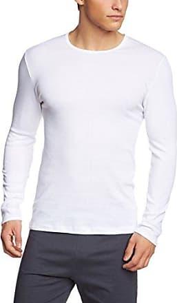 CALIDA Top Langarm Mood - Sudadera con manga larga para mujer, color blanco (weiss 001), talla xs