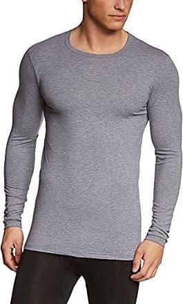 Shirt Langarm Evolution - Sudadera con manga larga para hombre, color schwarz (schwarz 992), talla small CALIDA