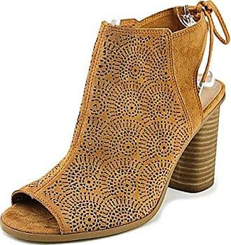 Call It Spring Frauen Metaponto Peep Toe Fashion Stiefel Braun Groesse 6.5 US/37.5 EU