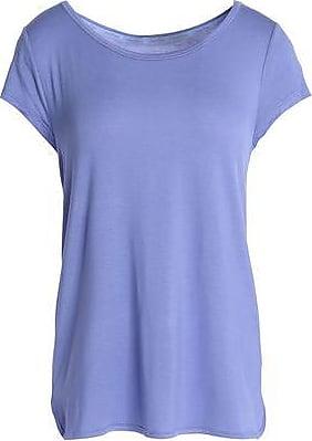 Calvin Klein Woman Stretch-modal Pajama Top Lavender Size M Calvin Klein