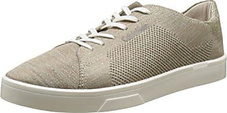 Ilene 2 Heathered Knit/Solid Kni, Sneakers Basses Femme, Multicolore (Cocoon/Gold/Ivory), 38 EUCalvin Klein