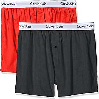 2p Slim Fit, Boxer para Hombre, Multicolor (Black/Grey Heather), Medium(Pack de 2) Calvin Klein