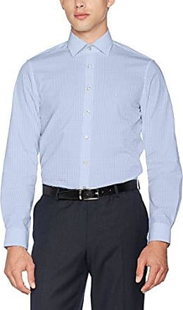 Cannes Fitted FEC, Camisa para Hombre, Rot (Boisenberry 934), 43 cm Calvin Klein