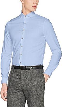 Venice Extra Slim Fit FTC, Camisa de Oficina para Hombre, Azul (Light Blue), X-Large (Talla del Fabricante: 43) Calvin Klein