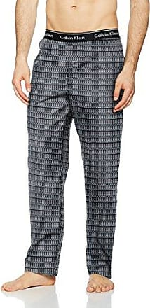 Calvin Klein PJ Pant, Bas de Pyjama Homme, (Pablo Logo Print Black), Small