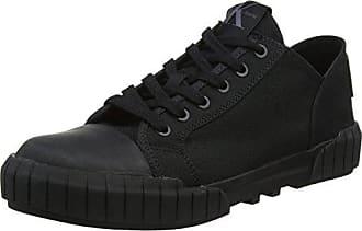 Calvin Klein Jeans Bianca Nylon, Zapatillas Para Mujer, Negro (Blk 000), 36 EU
