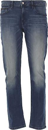 Jeans On Sale, Diamond Blue, Cotton, 2017, 32 36 Calvin Klein
