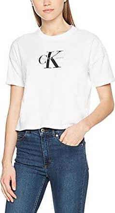 Calvin Klein Tamar-26 CN Slim FIT tee SS, Camiseta para Mujer, Blanco (Bright White 112), X-Small