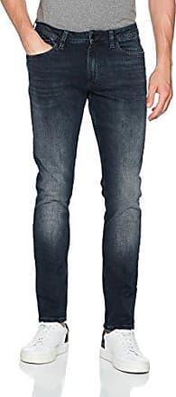 Jeans Slim Straight-Blac, Pantalones Vaqueros para Hombre, Negro (Black Widow), W29/L32 (Talla del fabricante: 3229) Calvin Klein