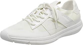 Calvin Klein Jeans Tada Mesh, Zapatillas para Mujer, Blanco (Wht 000), 37 EU