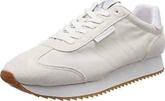 Mens Graph Nylon/Suede Low-Top Sneakers Calvin Klein Jeans