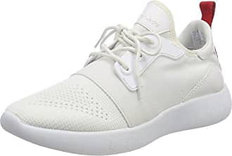 Taja Mesh/Hf, Zapatillas para Mujer, Blanco (Wsi 000), 36 EU Calvin Klein Jeans