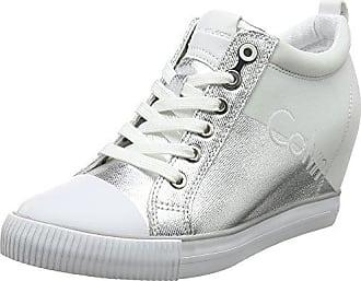 Jeans Arthur Heavy Canvas, Sneaker a Collo Alto Uomo, Bianco (Ntw 000), 46 EU Calvin Klein